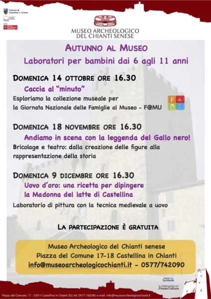 calendario eventi autunno bambini